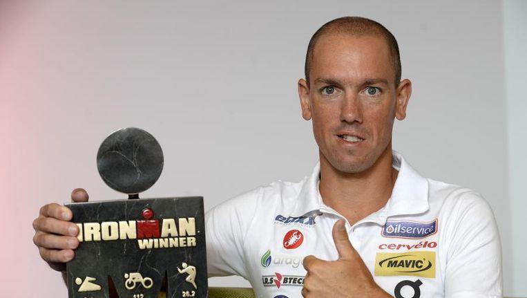 Ironman-winnaar Frederik Van Lierde, één van de 30 genomineerden bij de mannen. Beeld PHOTO_NEWS
