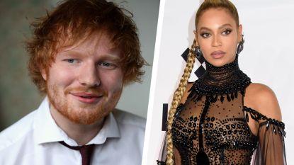 Dé kerstsingle van het jaar? Ed Sheeran en Beyoncé staan in geen tijd op nummer 1 in de VS