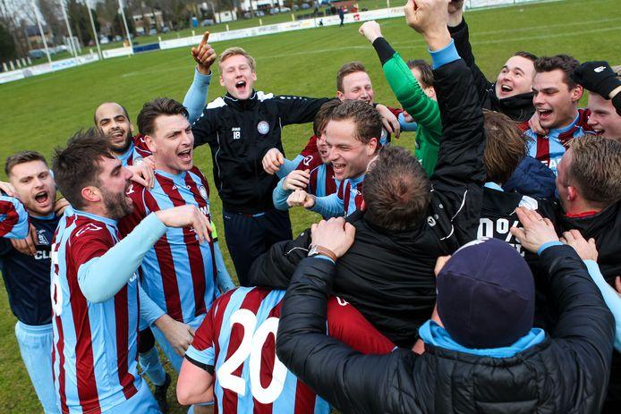 OVC'85 viert in het afgebroken seizoen 2019-2020 de eerste periodetitel in de derde klasse. Als koploper promoveerde de club uit Oosterbeek naar de tweede klasse.