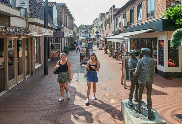 De Kalverstraat in Veghel.