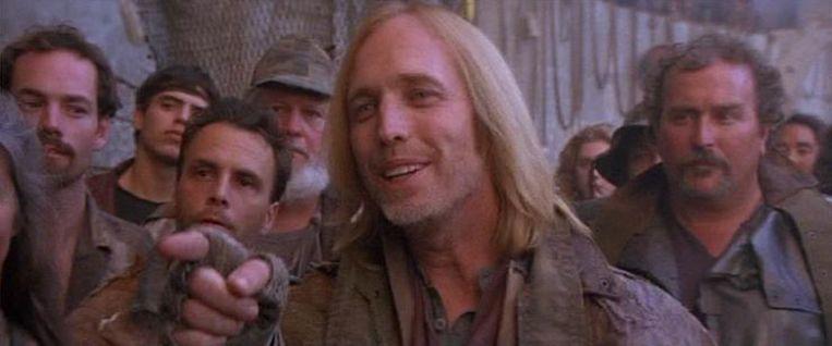 Tom Petty in The Postman (1997). Beeld