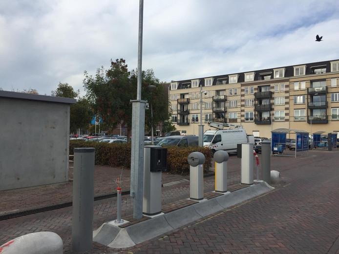 Het parkeerterrein waar a.s.r. binnenkort betaald parkeren wil invoeren.