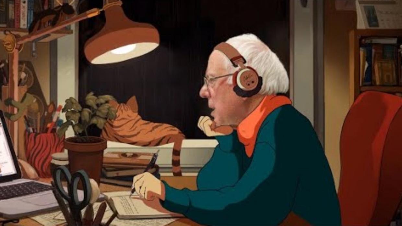 'Bernie Sanders 8 1/2 hour Filibuster but it's Lofi' Beeld YouTube