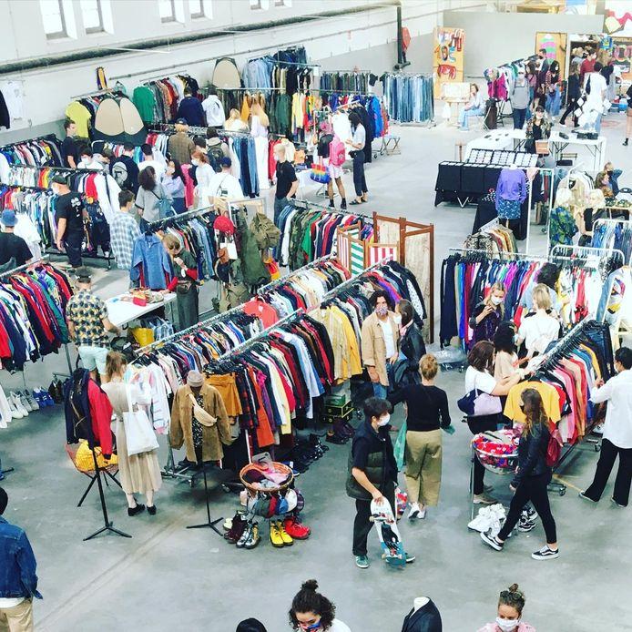 Brussels Vintage Market maakt na acht maanden afwezigheid zijn comeback.