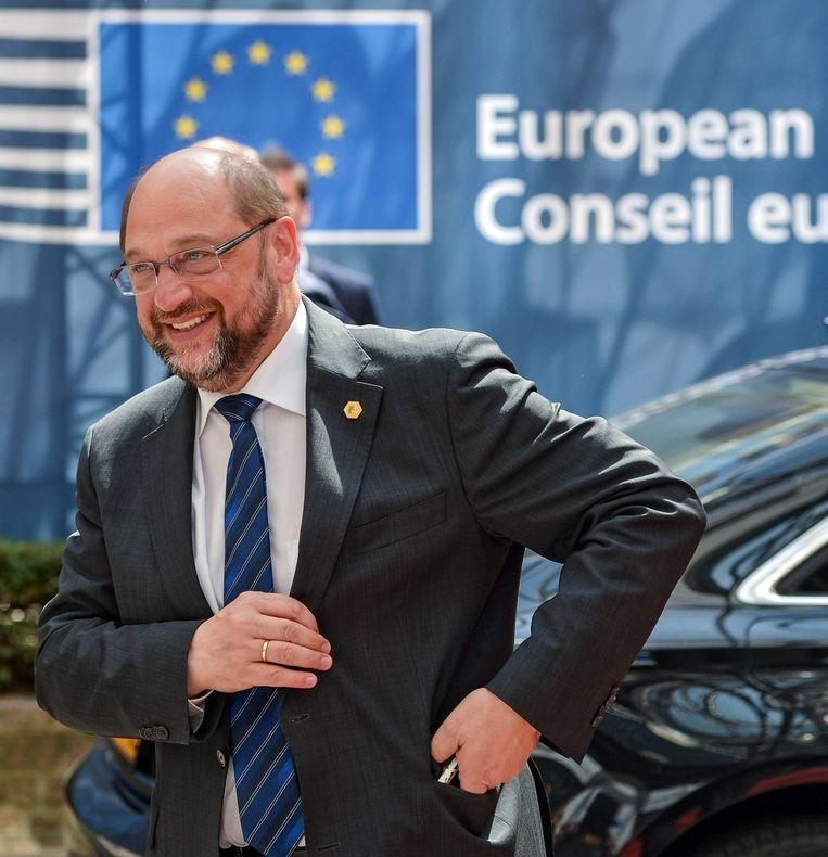 EP-voorzitter Martin Schulz Beeld anp