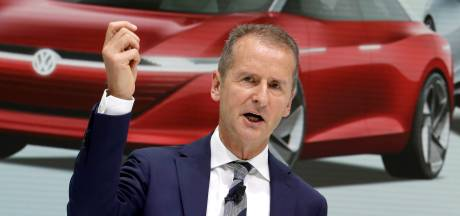 Waterstof hoort niet in auto's, vindt de hoogste baas van Volkswagen