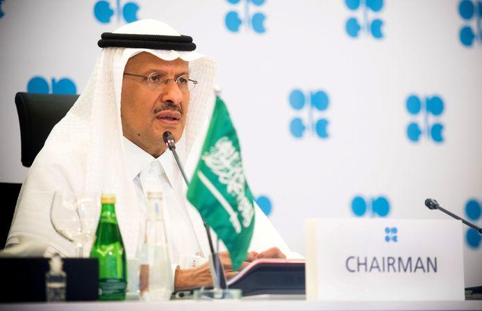 De Saudische minister van Energie Abdulaziz bin Salman Al-Saud.