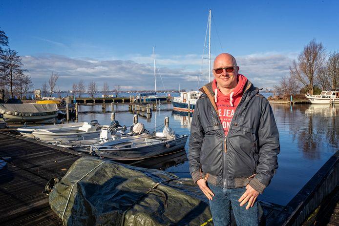 Remco Onderwater, voorzitter van stichting 't Venegat.