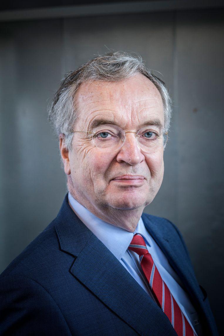 Bas Kortmann, de voorzitter van het Instituut Mijnbouwschade Groningen.   Beeld Hollandse Hoogte / Kees van de Veen