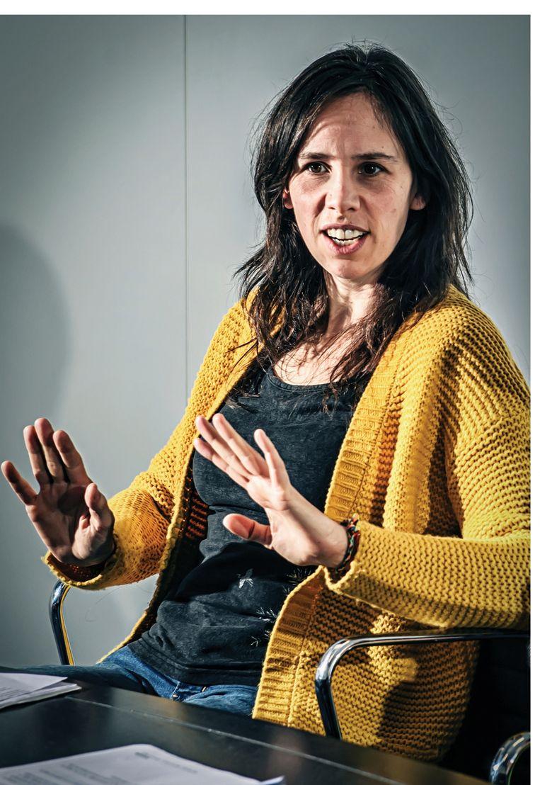Sara Vicca.  Beeld Geert Van de Velde