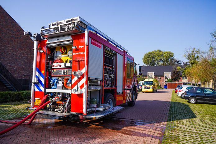 In een verzorgingstehuis aan de Sparrenlaan in Sterksel heeft zondagmiddag rond 13.30 uur een brand gewoed in de kamer van een bewoner.