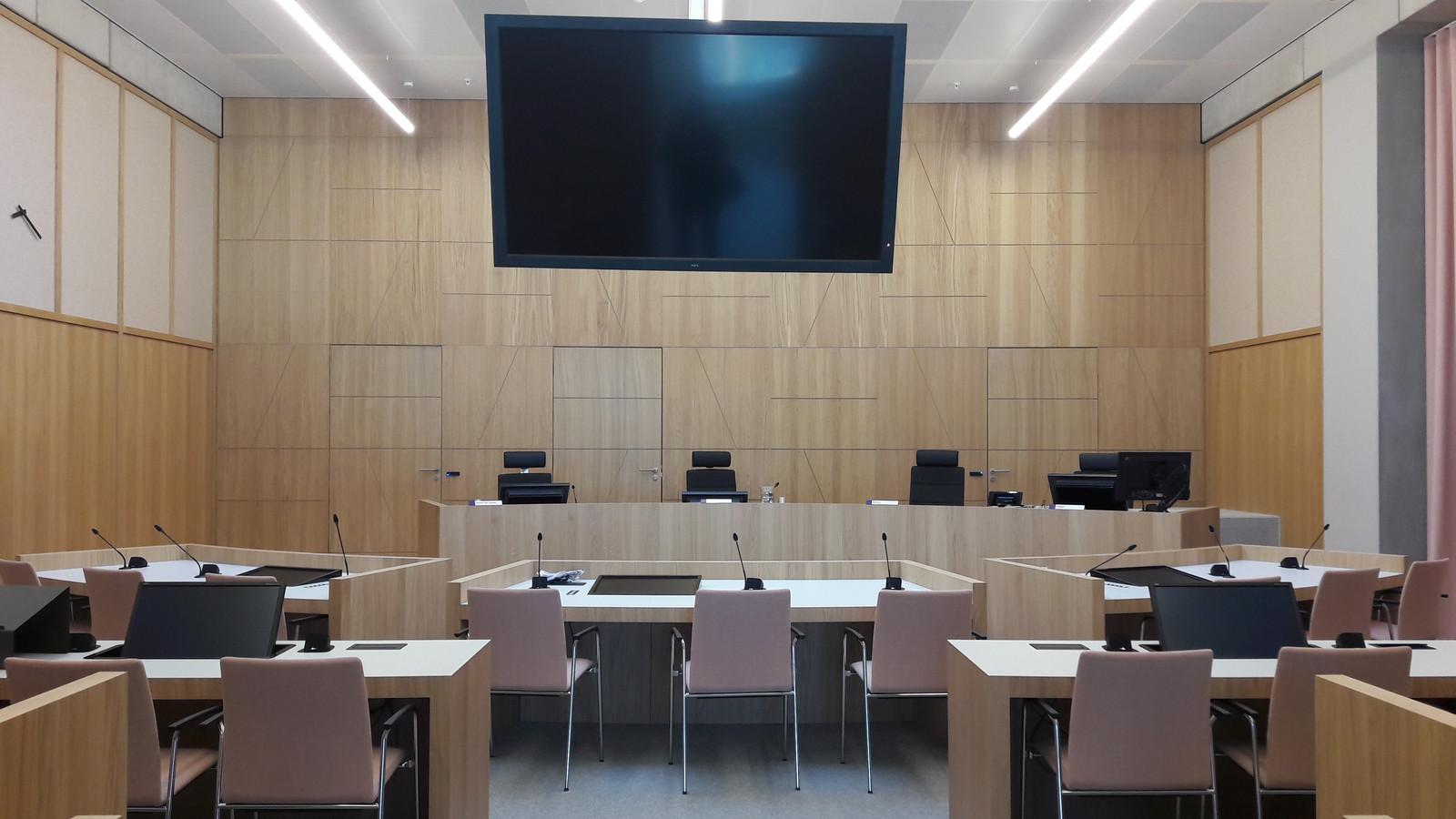 De rechtbank in Breda.