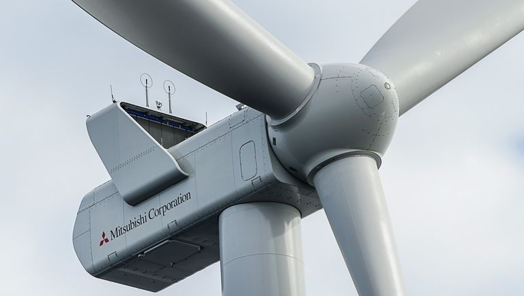 Nederland moet het voornamelijk hebben van windenergie. Beeld anp
