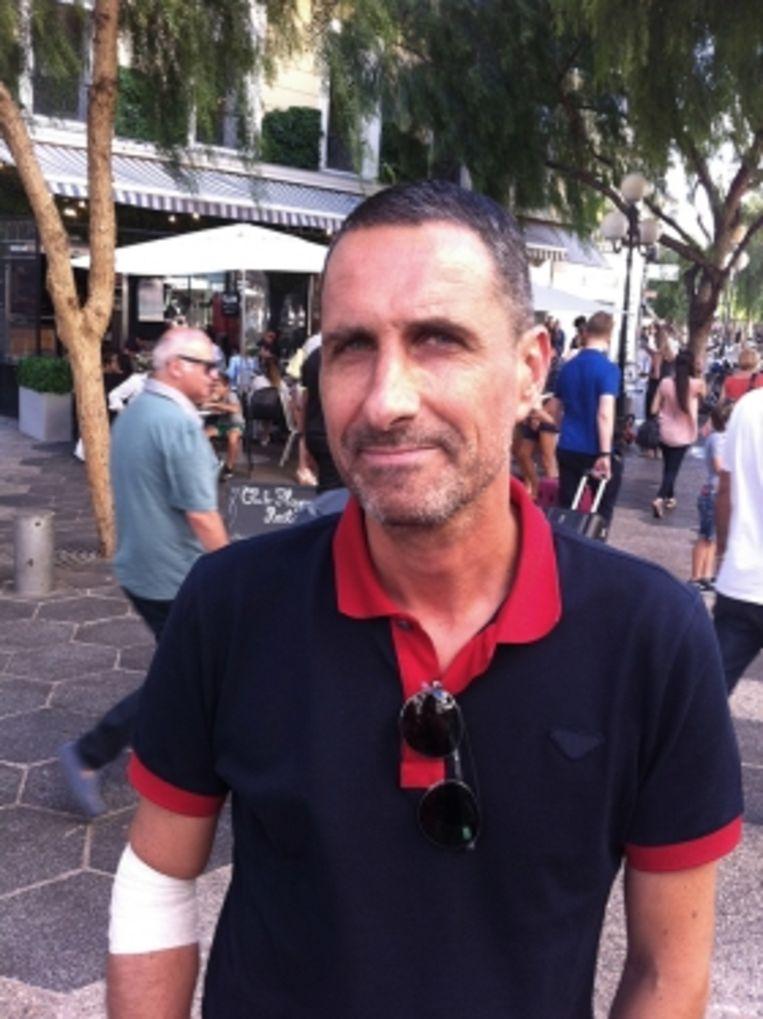 Pascal Karsenty: 'Het was een verschrikkelijk zicht: overal doden en gewonden, en mensen die zich op hun stervende geliefden gooiden. Dat is niet wat je wilt zien, dat is niet wat je wilt meemaken in jouw stad.' Beeld