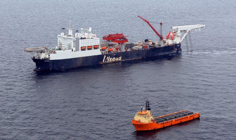 Een schip van Allseas Beeld EPA