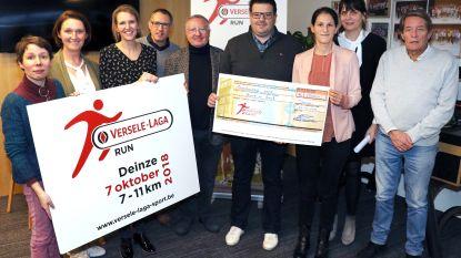 Eerste Versele-Laga Run brengt 2.000 euro op voor Back on Track-fonds