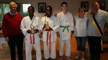 Judokampioenen gevierd