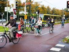 Utrechtse fietser slaat thuiswerkadvies in de wind: bijna net zo druk als voor de lockdown