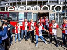 Zingende buschauffeurs barsten van ambitie: 'We willen Mijn Feyenoord in de Top 2000'