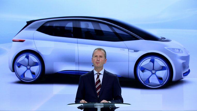 Herbert Diess, manager bij Volkswagen. Beeld anp