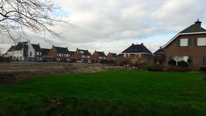 In de wijk Casterhoven zijn de laatste jaren veel nieuwe woningen gebouwd.