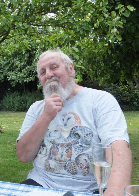 De overleden Paul Claes (76) uit Jabbeke, een foto van zes jaar geleden.