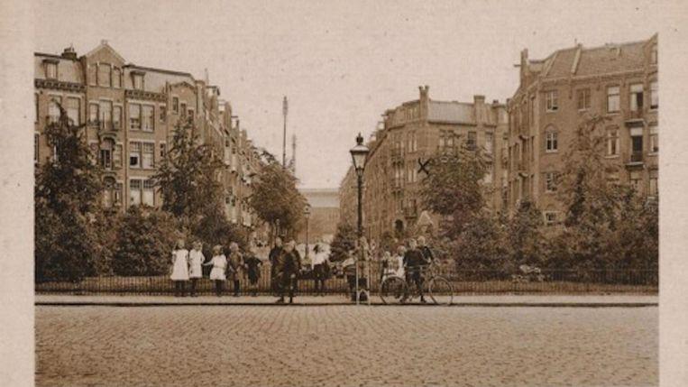 Pretoriusplein rond 1915 Beeld Stadsarchief