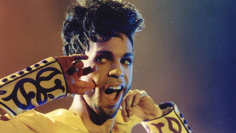 Prince in Rotterdam in 1995. Beeld ANP