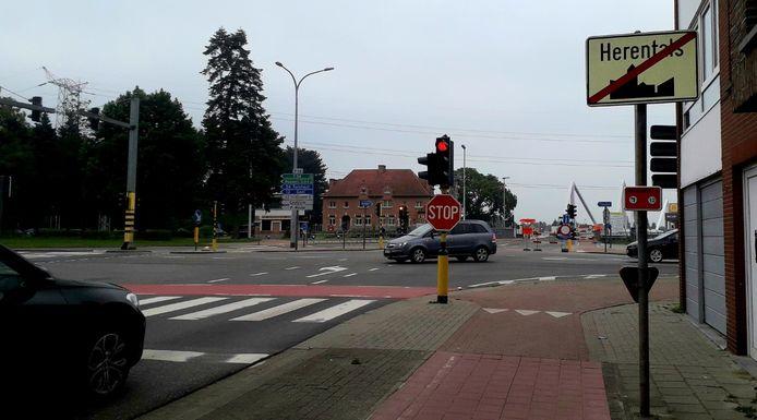 De lichten aan het kruispunt aan de Ringlaan deden raar vrijdag