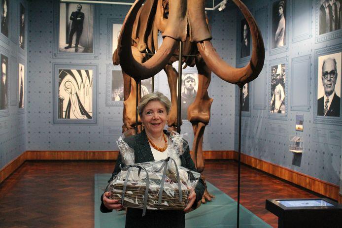 Monique Baele was in 2019 de 2 500ste bezoeker van het Lierse stadsmuseum.