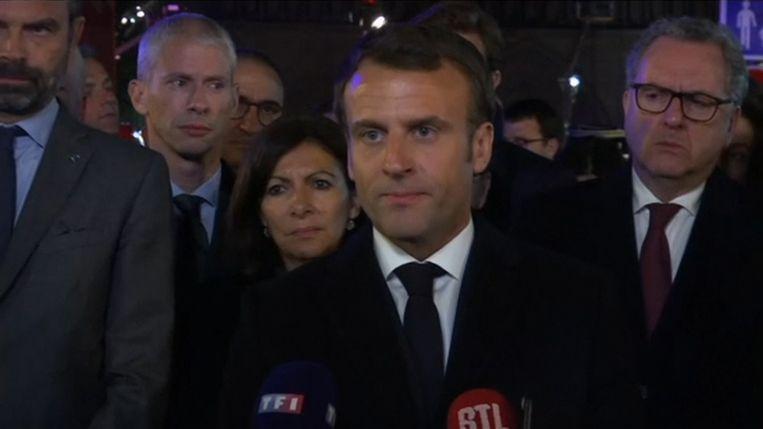 Frans president Emmanuel Macron