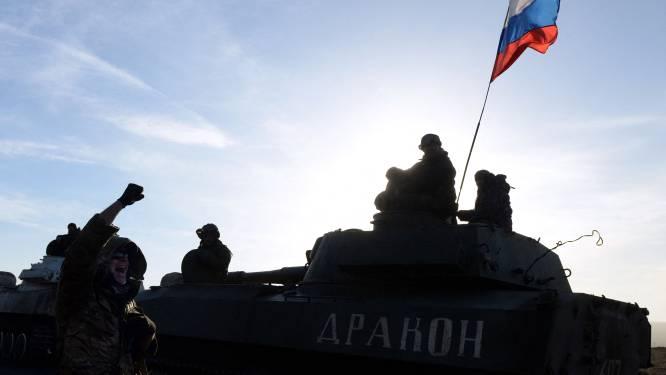 Duizenden Russische soldaten aan Oekraïense grens