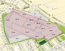 De 'bebouwingsenveloppe' uit het Masterplan van Nestlé.