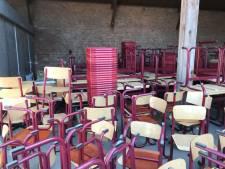 Weer container met schoolmateriaal uit De Langstraat naar Curaçao