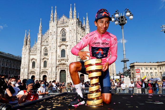 Egan Bernal won de Giro.