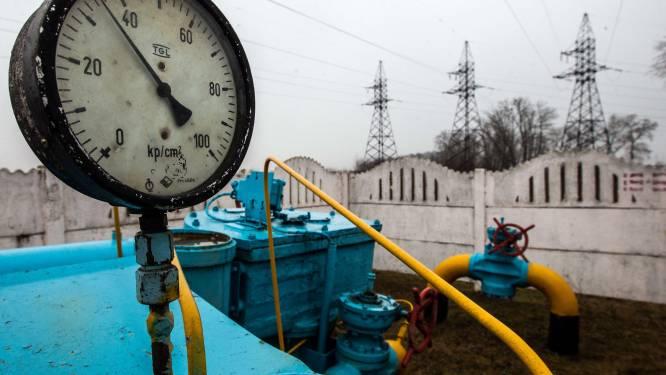 Oekraïne krijgt gasfactuur van 1,66 miljard dollar voorgeschoteld
