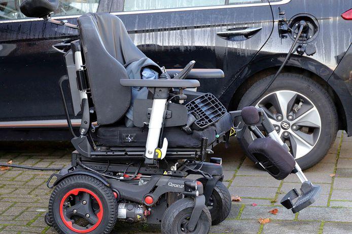 Man gewond bij botsing in Waalwijk.