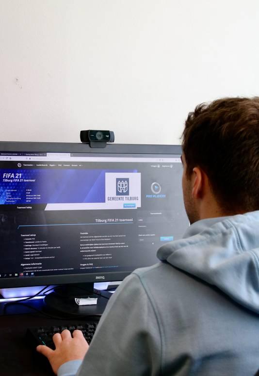 Het FIFA2021 toernooi van Gaming Series Tilburg, mede mogelijk gemaakt door Gemeente Tilburg.