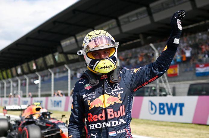 Nouvelle pole position pour Max Verstappen.