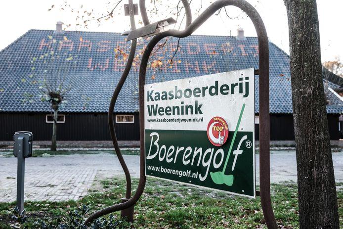 De kaasboerderij Weenink in Lievelde. Tevens evenementenlocatie.