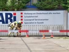 Gas verspreidt zich via het riool na lek in Ridderkerk