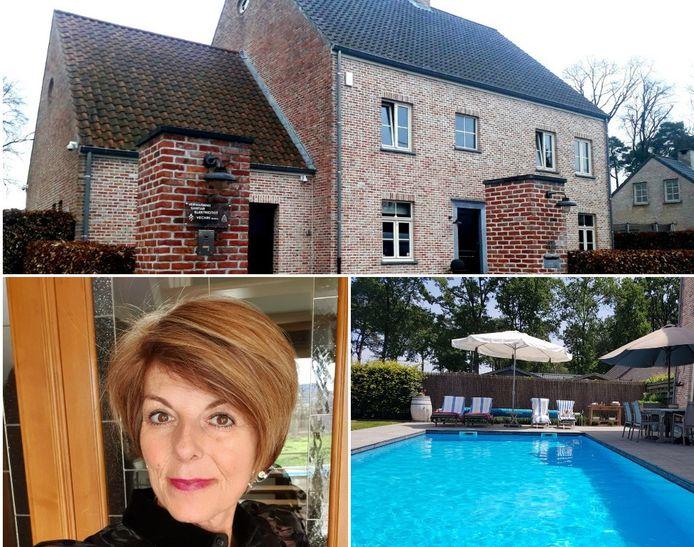 Christel Vertommen vreest dat ze afscheid zal moeten nemen van haar huis en zwembad