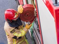 Touringcar in Hilversum volledig uitgebrand