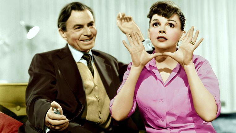 James Mason & Judy Garland Beeld rv