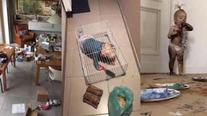 Dit zijn de meest hilarische foto's van de ravage die jullie kinderen aanrichtten tijdens de lockdown