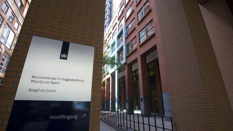 Het ministerie van Volkshuisvesting Ruimtelijke Ordening en Milieu (VROM) in Den Haag. Beeld ANP