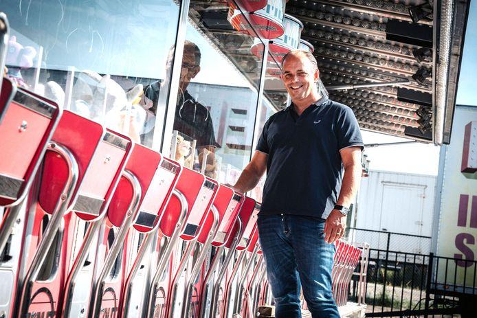 Frank Vale, kermisexploitant en exploitant van de ijsbaan in Bergen op Zoom.
