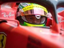 """Le bonheur de Mick Schumacher au volant d'une Ferrari: """"C'était merveilleux"""""""