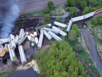 Trein ontspoord in Iowa: 80 mensen geëvacueerd na brand