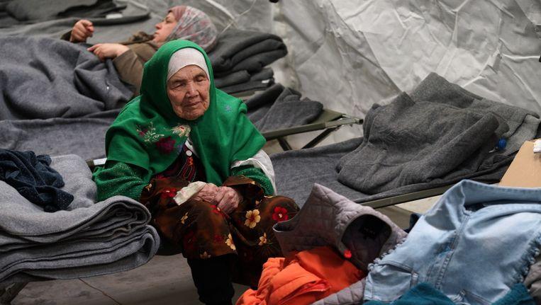 Bibihal Uzbeki uit Kunduz in Afghanistan. Beeld AP